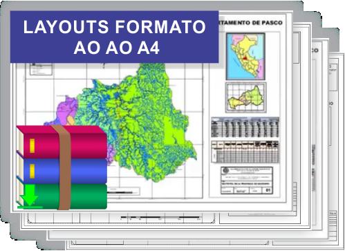Bônus 2 do curso de cadastro ambiental rural - Layouts Formato A0 Ao A4