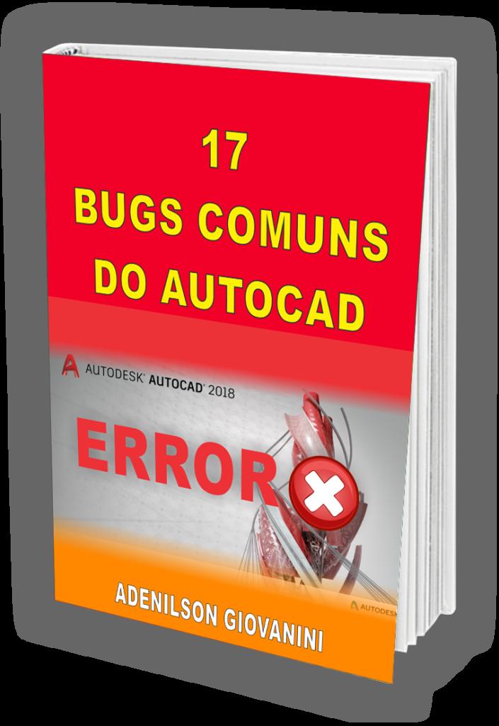 bônus 1 - bugs do autocad