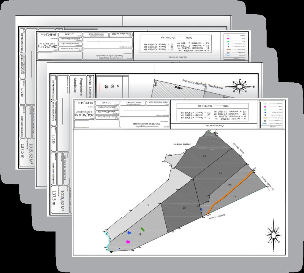manual de topografia - bônus 4 - layouts do autocad
