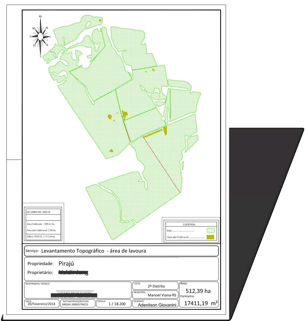 mapa de lavouras