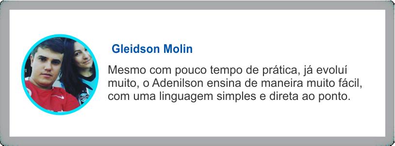 depoimento Gleidson Molin