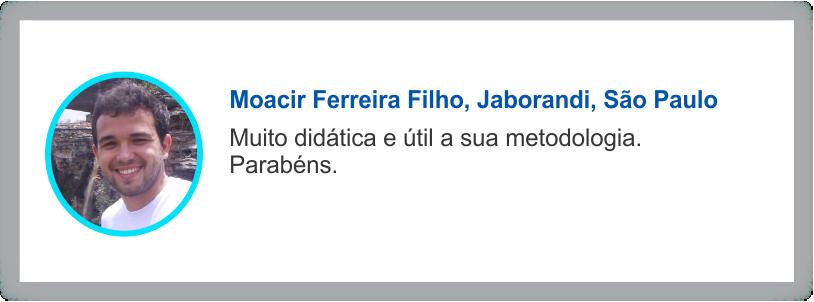 Depoimento Moarcir Ferreira Filho