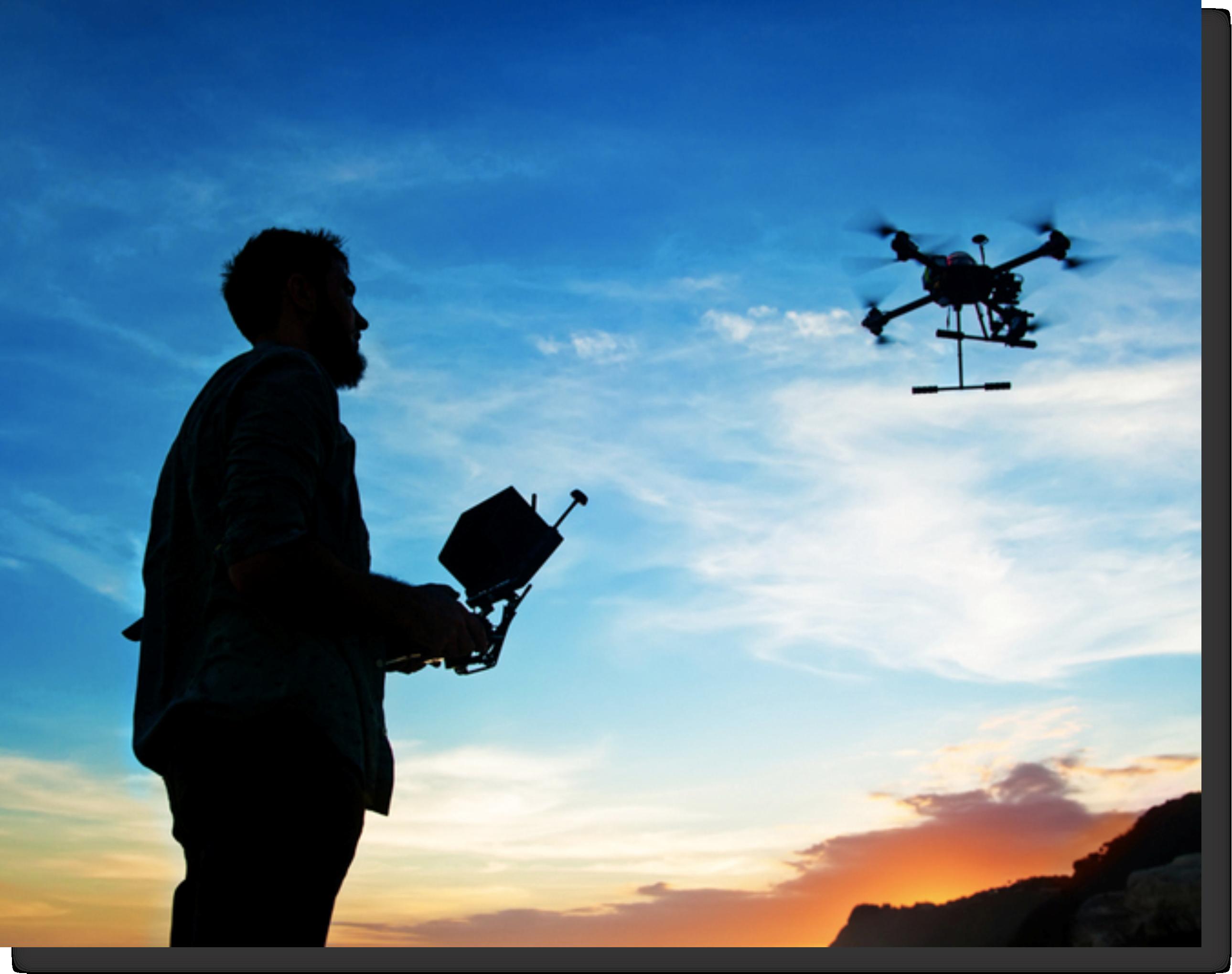 operar drone