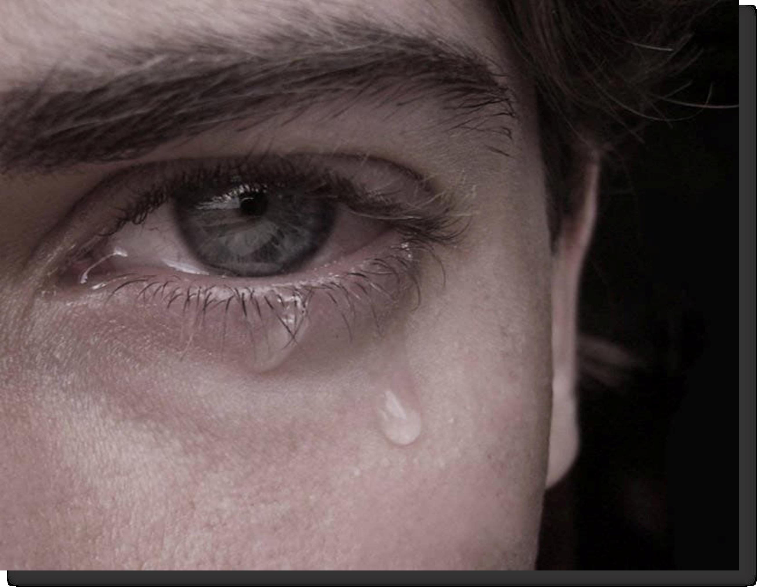 pessoa chorando