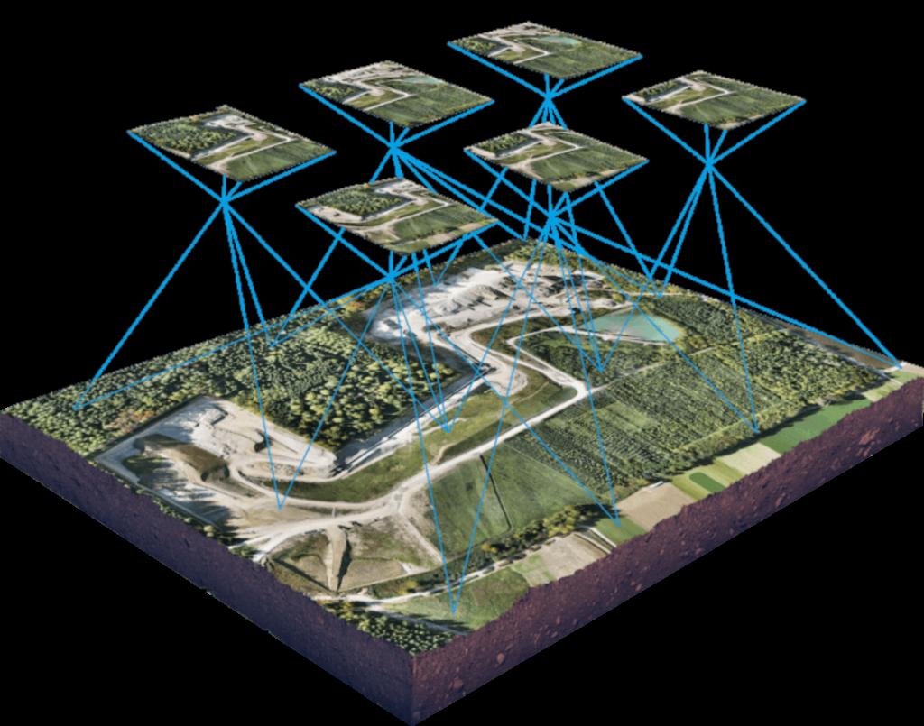 topografia ocm drones