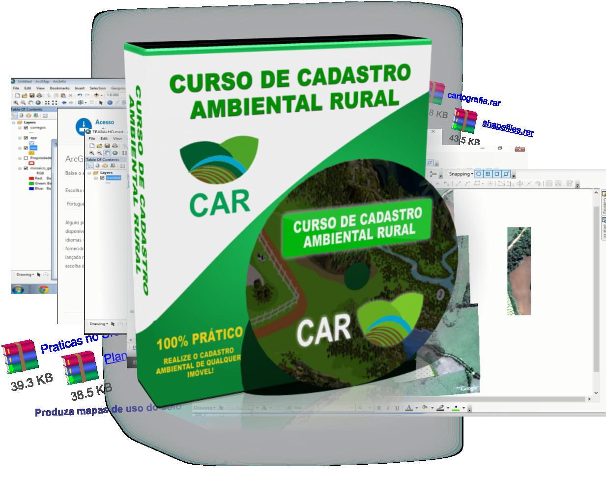 curso de cadastro ambiental rural